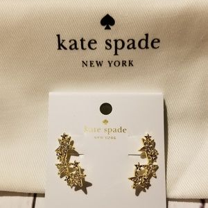Kate Spade Seeing Stars ear crawler earrings